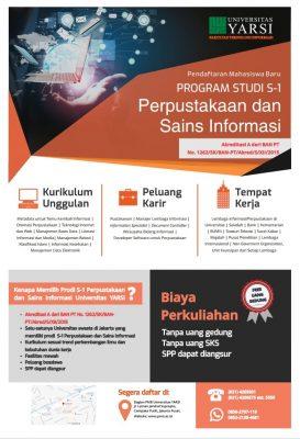 Poster Prodi Ilmu Perpustakaan dan sains Informasi